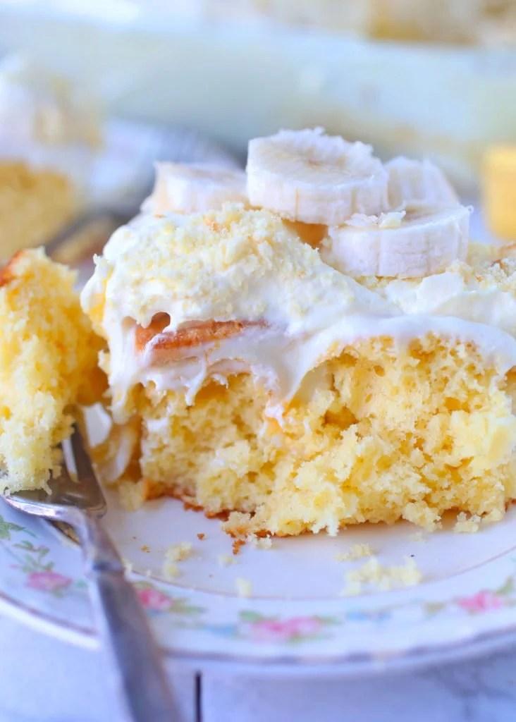 Banana Pudding Poke Cake Paula Deen