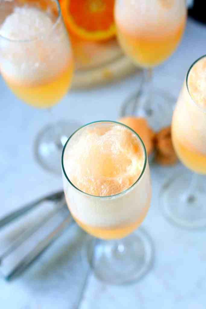 Orange Sherbert Mimosa