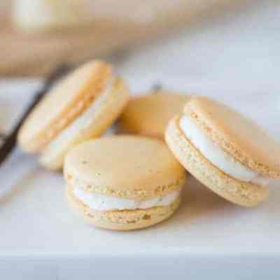 Vanilla Bean Macarons | RECIPE VIDEO