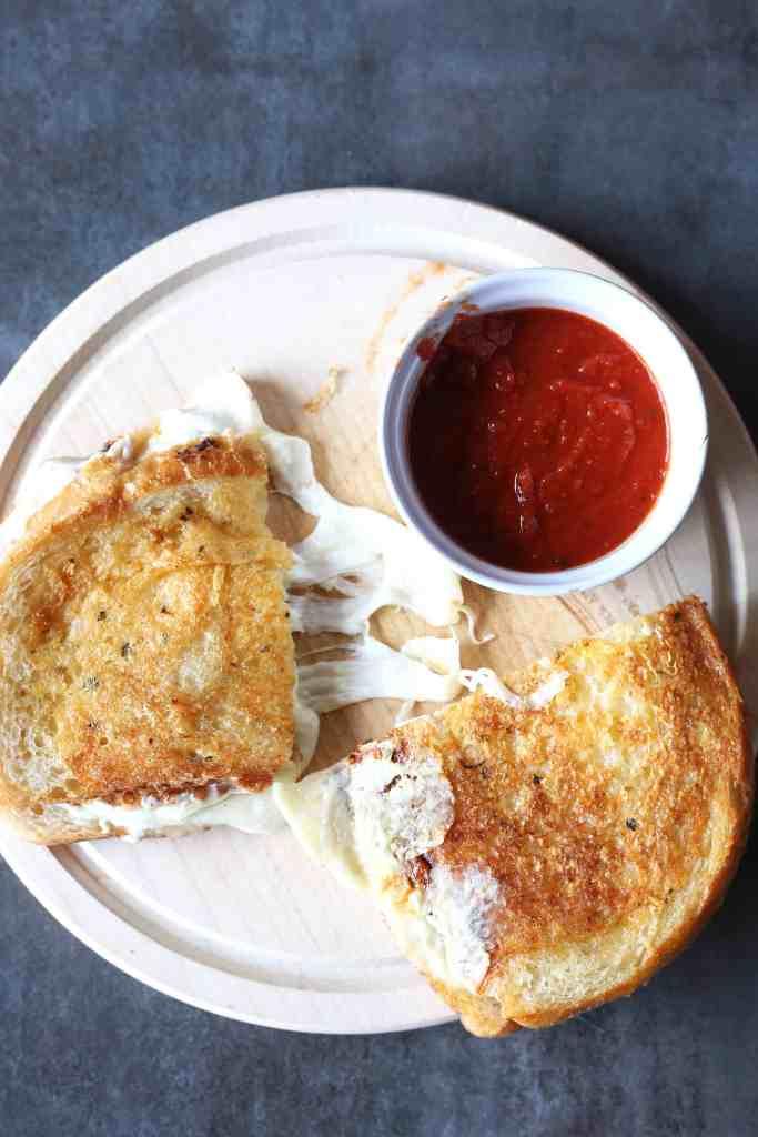 Insane Grilled Cheese Sandwich