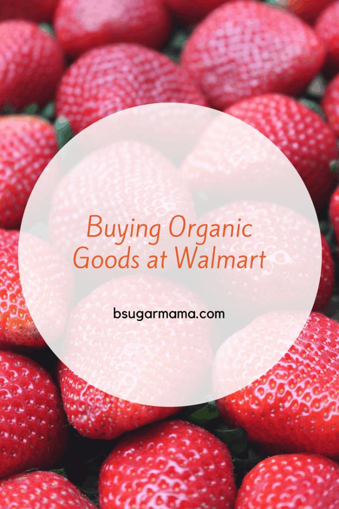 Organic Food at Walmart