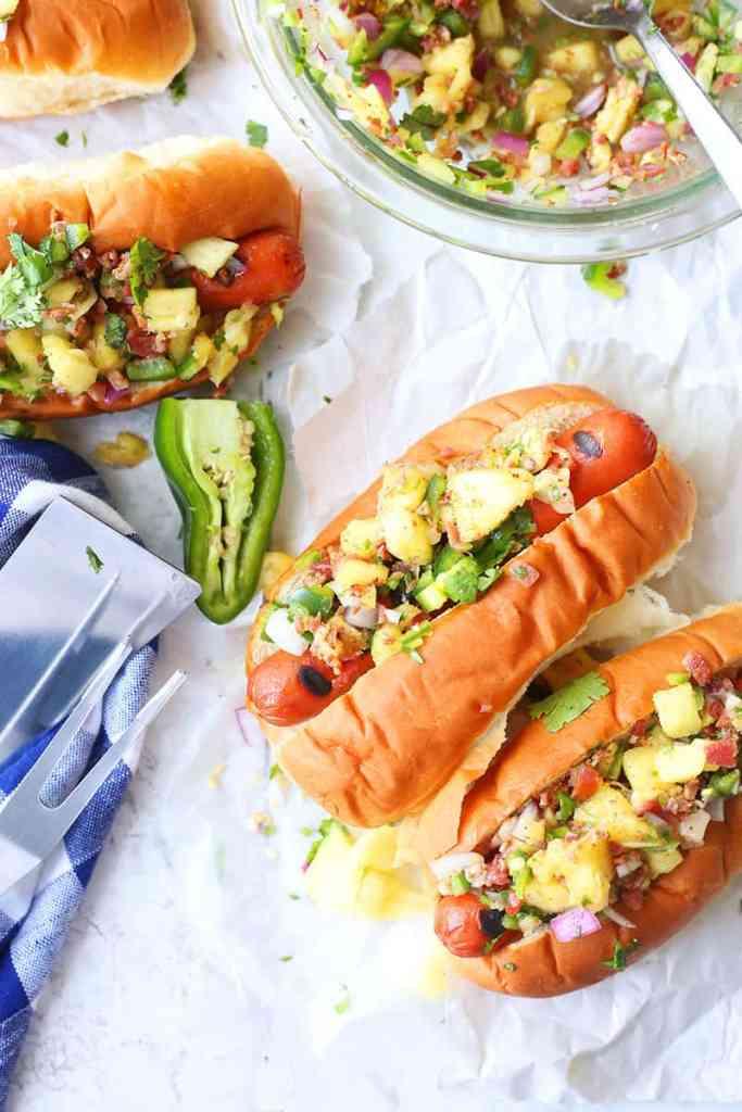 Hawaiian Hot Dogs Recipe
