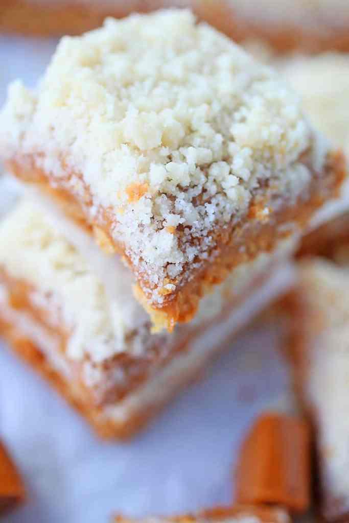 Salted Caramel Sugar Cookie Bars