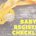Amazing Must-Have Items for your Baby Registry Checklist | GIVEAWAY