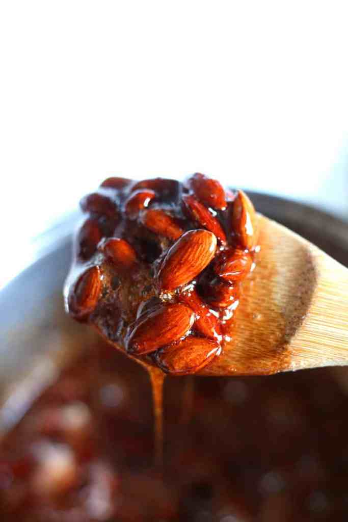 Bourbon Pumpkin Candied Almond Recipe