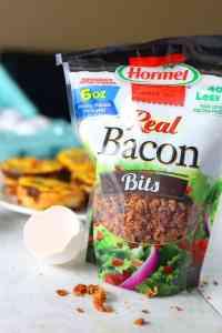 Bacon Cheddar and Chive Mini Quiche