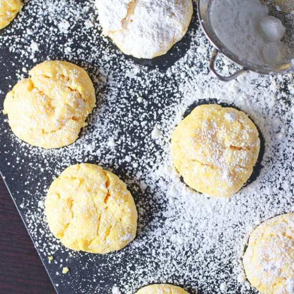 Ooey Gooey Butter Cookies Recipe