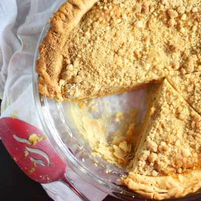 Streusel Pumpkin Pie Recipe