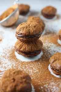 Luscious Chocolate Macarons