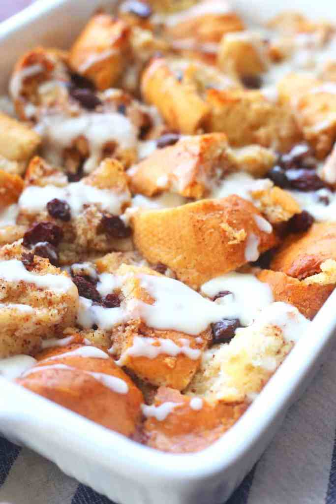 Old Fashioned Bread Pudding with Bourbon Sauce