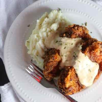 Chicken Fried Pork Chops