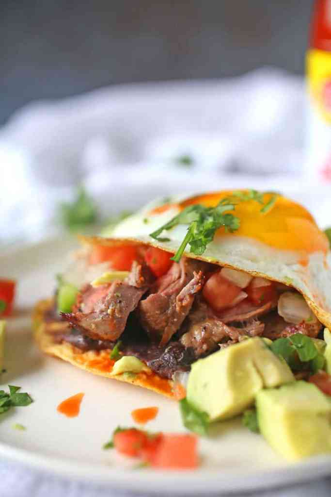 Steak and Egg Huevos Rancheros