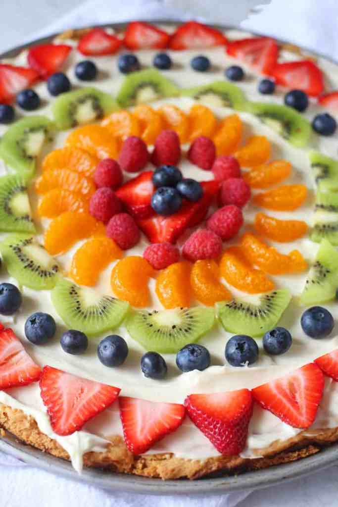 Sugar Cookie Fruit Pizza Recipe Brown Sugar Food Blog