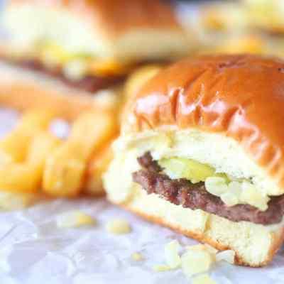 Copycat White Castle Burgers Recipe