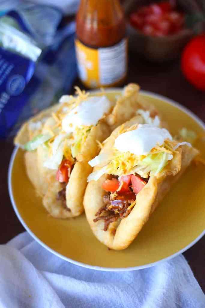 Homemade Mexican Chalupas Recipe