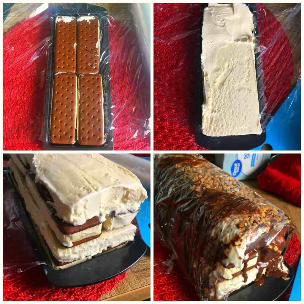 Drumstick Ice Cream Sandwich Cake
