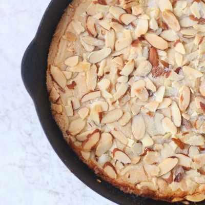 Skillet Almond Shortbread Recipe