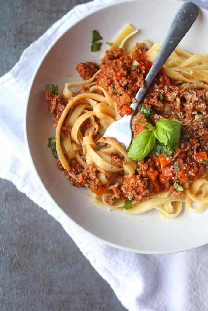 Easy Pasta Bolognese Recipe