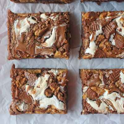 Fluffernutter Brownies Recipe