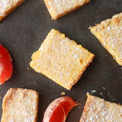 Easy Grapefruit Bars Recipe