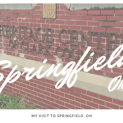 My Visit to Springfield, OH