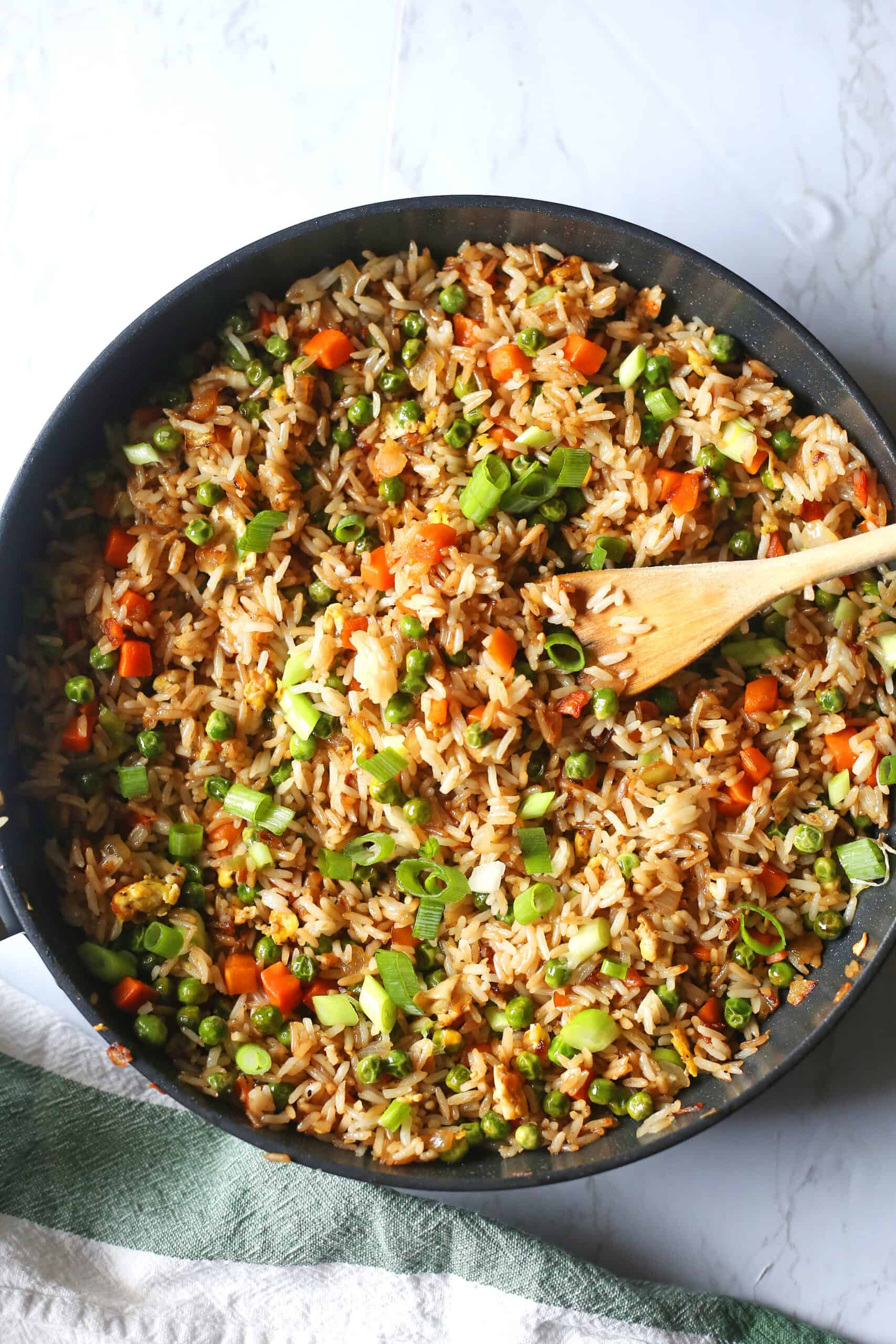 15 Minute Stir Fried Rice Recipe Brown Sugar Food Blog