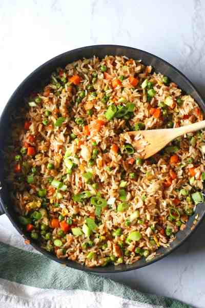 15 Minute Fried Rice Recipe