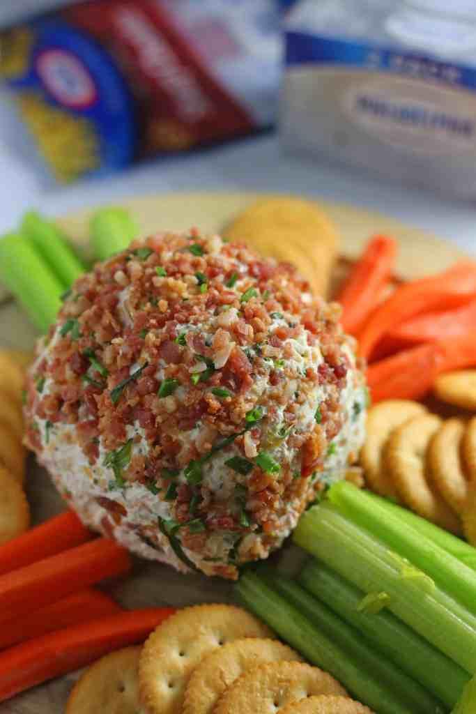Loaded Baked Potato Cheese Ball