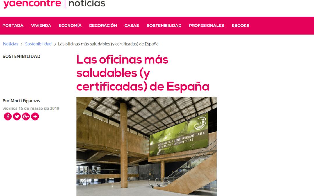 """Marqués de Larios 4 como ejemplo de edificio de oficinas sostenible en """"Ya encontré"""""""