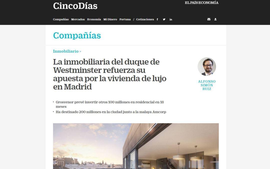 B/SV Arquitectos colabora con la Inmobiliaria Grosvenor en la recuperación y sostenibilidad del carácter residencial del barrio de Chamberí, con la reforma de un edificio centenario en la calle de General Arrando de Madrid