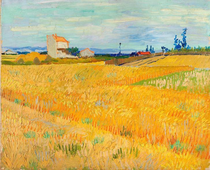 「ゴッホ 麦畑」の画像検索結果