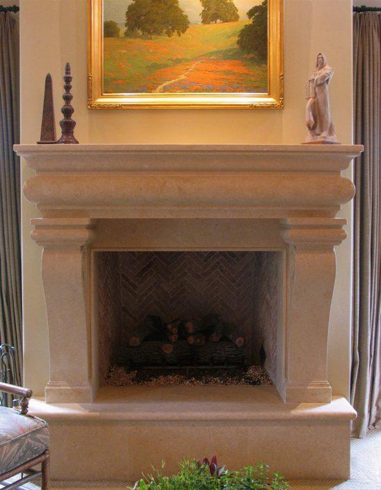 Italian Amp Tuscan Stone Fireplace Mantels BT Architectural Stone