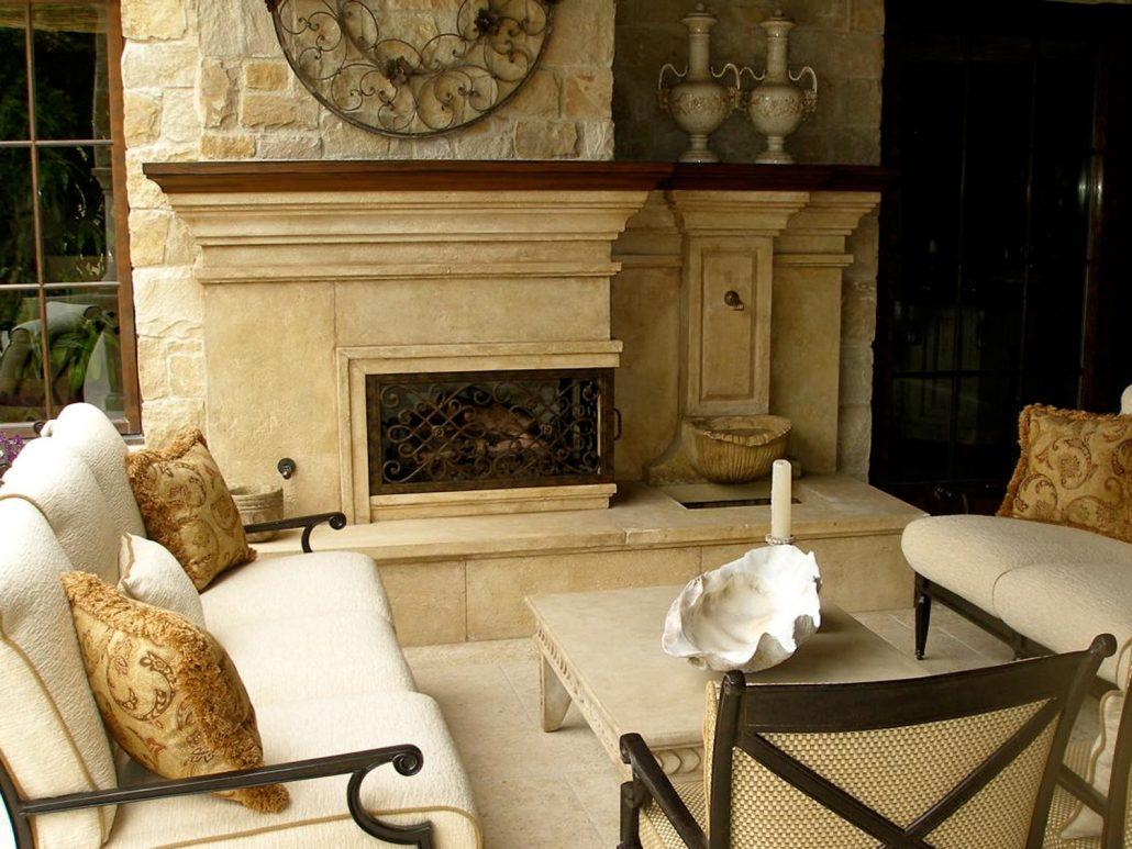 Custom Italian Amp Tuscan Stone Fireplace Mantels Bt Architectural Stone