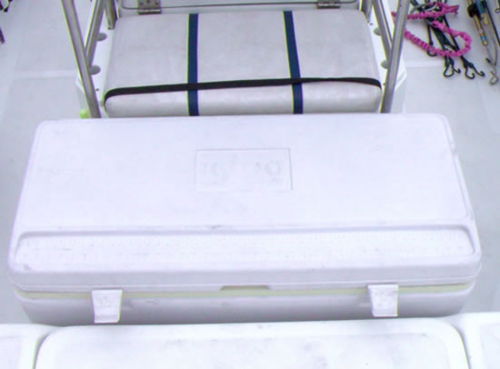 Front Ice Chest