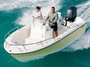 Edgewater 188cc - A self-bailing, seaworthy hull