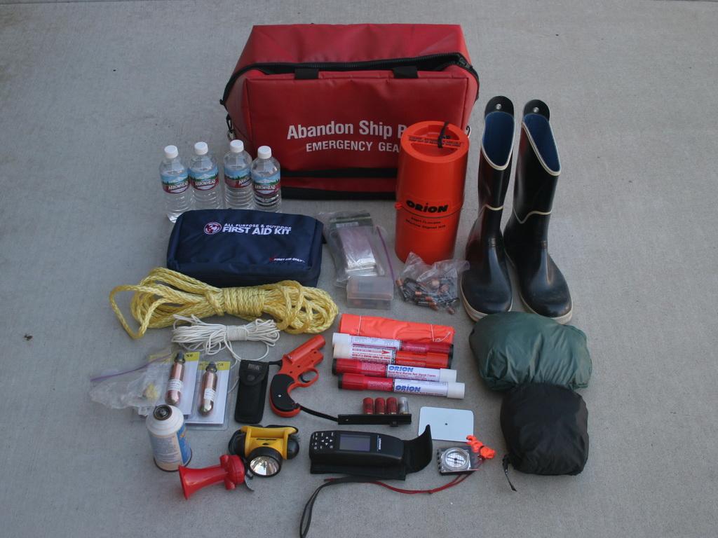 Ditch bag plus gear