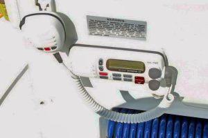 Standard Horizon LE radio