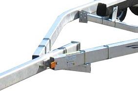 Tubular steel trailer