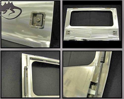 Aluminum Rear Flip Up Window Hatch Fj40 Toyota Land