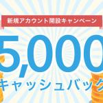 【bitFlyer】アカウント開設で5,000円もらえるチャンス!