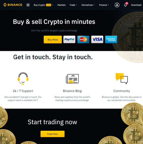 Trade a Ethereum