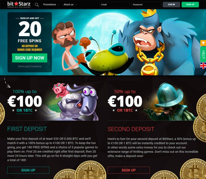 Free spins when you register card