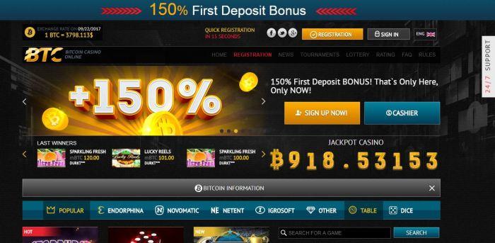 Casino bitcoin withdrawal
