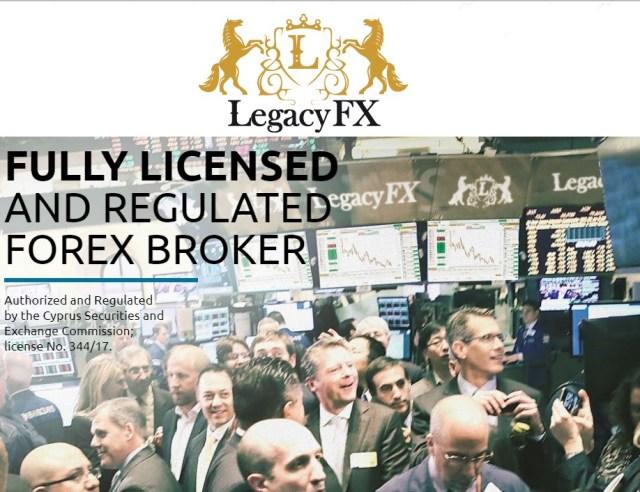 Legacy FX Forex Broker beoordeling 2019