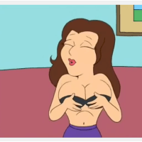 Big Breasts Spoof - This Itty Bra Can Barely Contain Them #familyguy