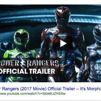 #PowerRangers - New Movie