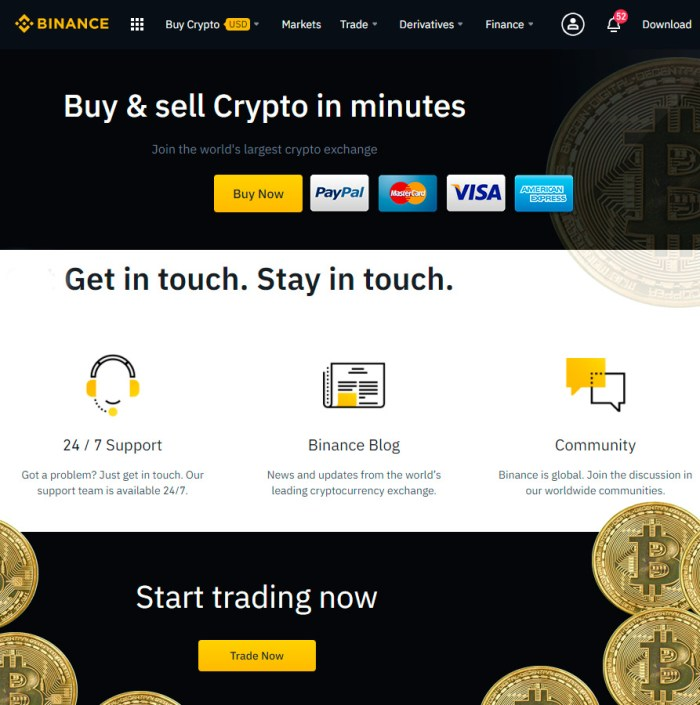 EOS trading Binance software download