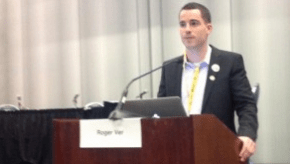 Roger Ver at Bitcoin 2013. Source: CoinDesk