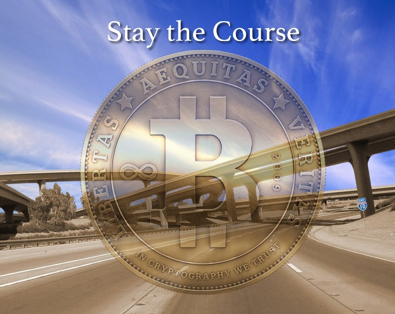 Bitcoin Growth – Stay the Course