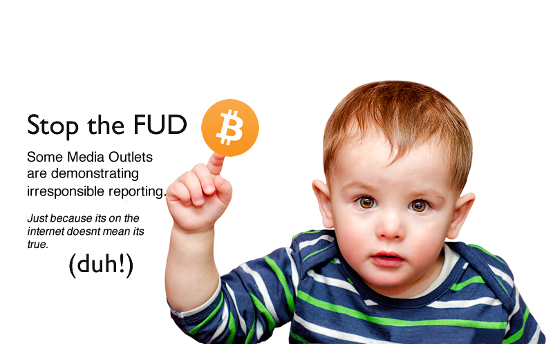 Again, Stop the FUD